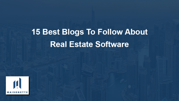 Real Estate Software Blog