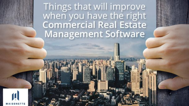 Improve your commercial real estate management software